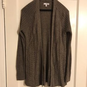 Open Front Sparkle Cardigan